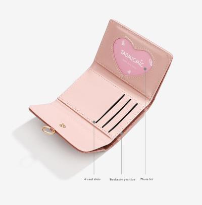 New Brand Women's Wallet Simple Short Wallets Matte Pu Leather Card Holder Women Purse Billeteras Para Mujer Porte Feuille Femme