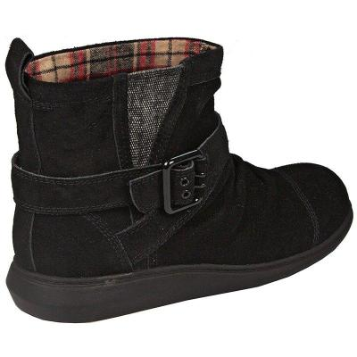 Women Comfy Suede Boot Shoes
