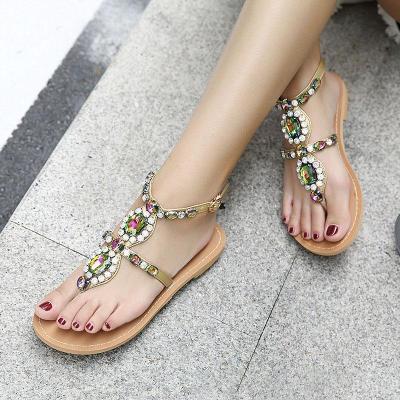 Women PU Sandals Casual Comfort Adjustable Buckle Shoes