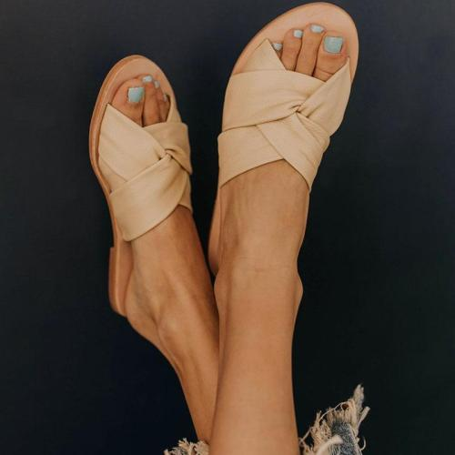 All Season Flat Heel Sandals