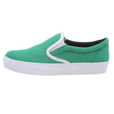 Slip-On Platform Shoes All Season Comfy Canvas Loafers