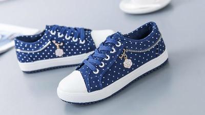 Sneakers women shoes 2020 new solid breathable canvas casual shoes woman lace-up ladies shoes women sneakers tenis feminino