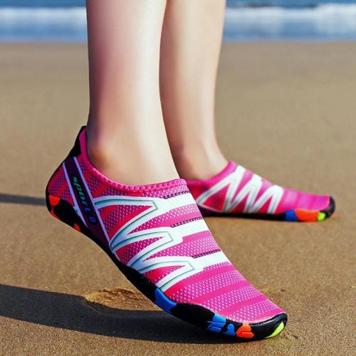 Large Size Outdoor Flat Heel Elastic Cloth Sneakers