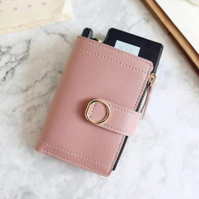 Short Women Wallets Zipper Tassel Wallet Soft Leather Ladies Card Holder Slim Purse Carteira Female Wallet Small Cartera Mujer