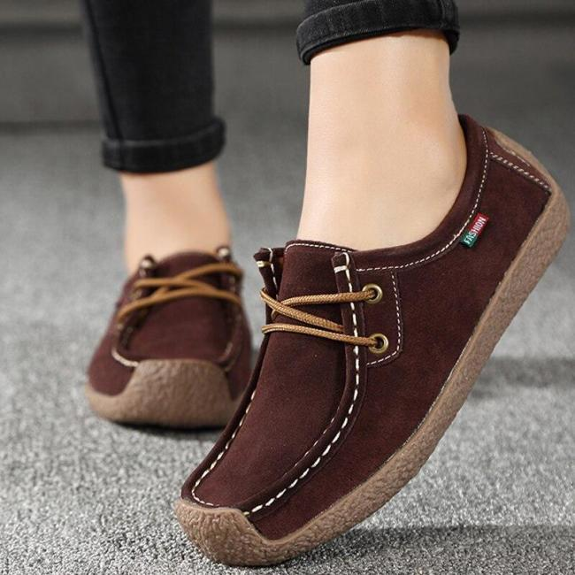 Women summer shoes woman loafers 2020 fashion comfortable flats women shoes solid lace-up square Toe shoes zapatillas mujer