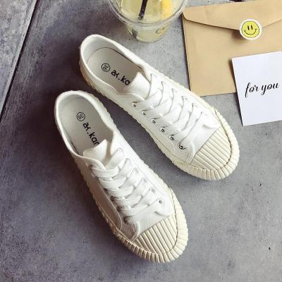Woman Canvas Vulcanize Shoes Women Flats Loafers Female Fashion Platform Shoes Student Casual Sneakers Ladies Espadrilles
