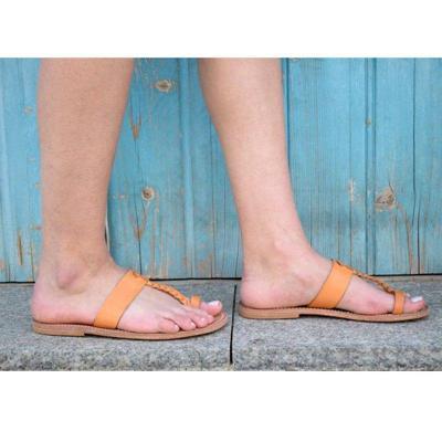 Summer PU Flats Flip-Flops Bohemian Sandals Plus Sizes