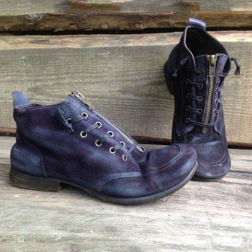 Zipper Daily Flat Heel Boots