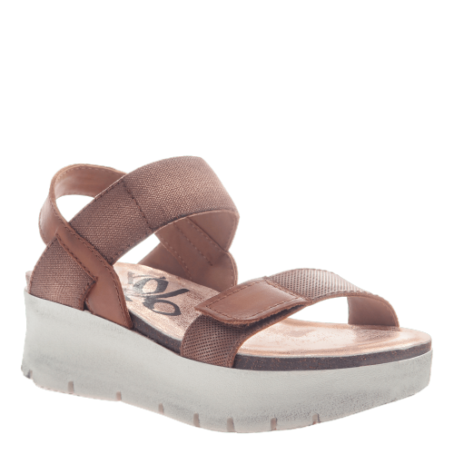 NOVA in COPPER Wedge Sandals