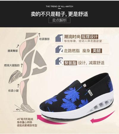 Women Height Increasing 5cm Canvas Shoes High Quality Slip-on Platform Shoes Woman Wedges Sneakers Trainers Ladies Espadrilles
