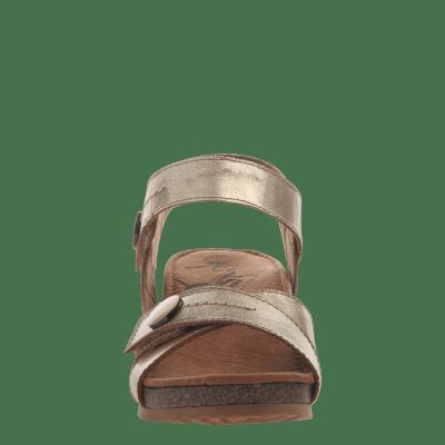 SANDEY in GOLD Wedge Sandals