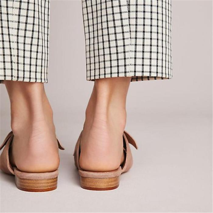 New Products Point-Headed Mueller Shoes Sandals
