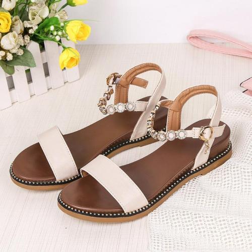 2019 Summer Women Shoes Flat Ladies Summer Shoes Fashion Women Sandals Elegant Ladies Sandals A764