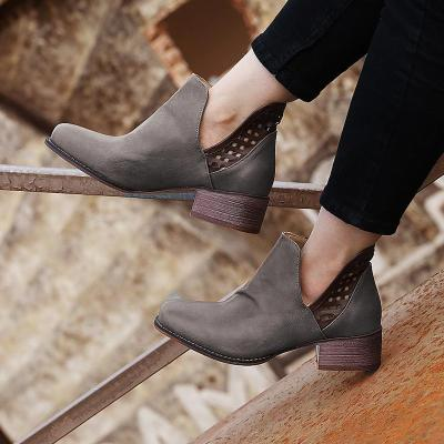 Women's Hollow-Out vintage Casual Flat Heel Flats