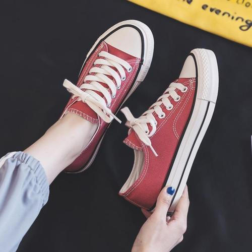 Brand Design Classics Canvas Shoes Women High Quality Fashion Sneakers Woman Flats Low-cut Casual Loafers Ladies Skateboarding