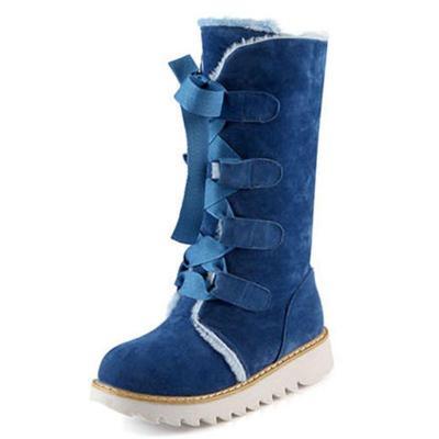 Women's Winter Low Heel Warm Casual Boots