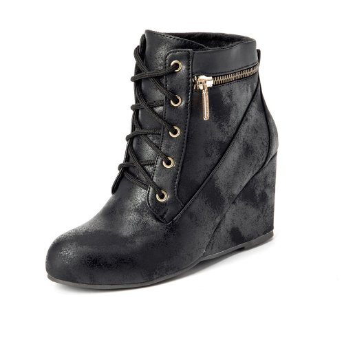 Women Winter Zipper Slip-On Vintage Boots
