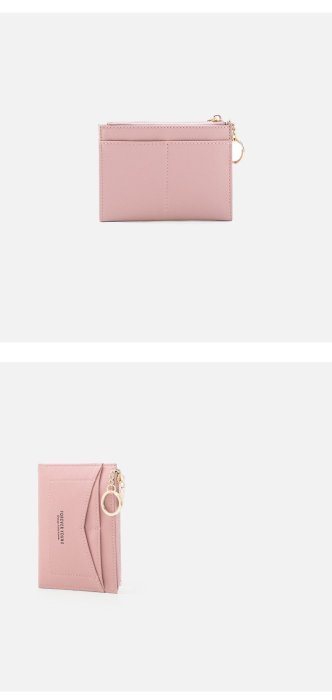 2020 Slim Keychain Card Holder Women Leather Bag Small Card Wallets Female Organizer Mini Credit Card Case Zipper Coin Bags