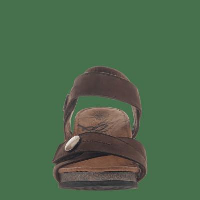 SANDEY in COFFEEBEAN Wedge Sandals