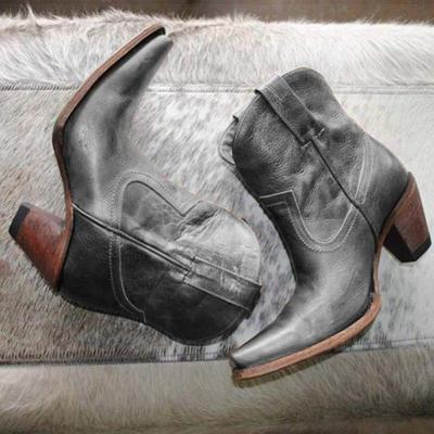 Leather Daily All Season Boots