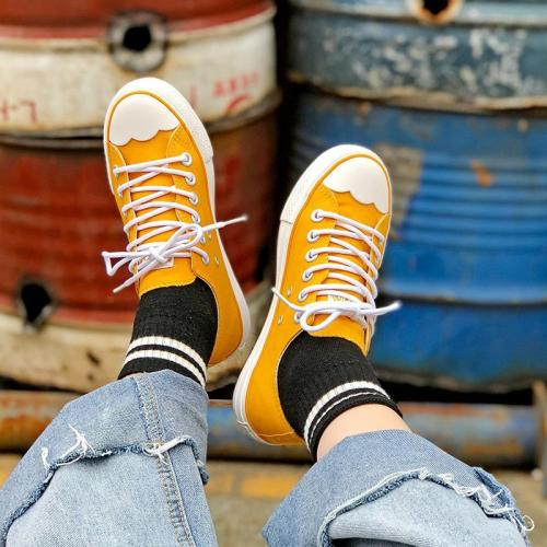Woemn's Casual Athletic Lace-Up Round Toe Sneakers