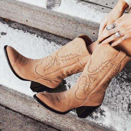 Women Vintage Comfy Boots