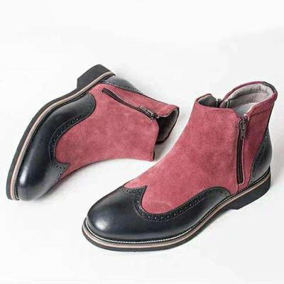 Faux Suede Boots