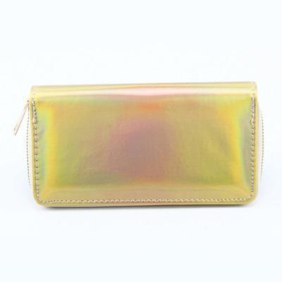 New Fashion Laser Zipper Long Wallet Women Leather Money Pouch Coin Phone Card Passport Holder Clutch Wallets Female Purses
