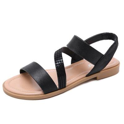 2019 Summer Women Shoes Flat Women Sandals Fashion Brand Summer Ladies Sandals Plus Size 42 A997