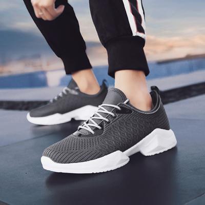 Men's Breathable Personality Crocodile Mesh Mesh Sneakers