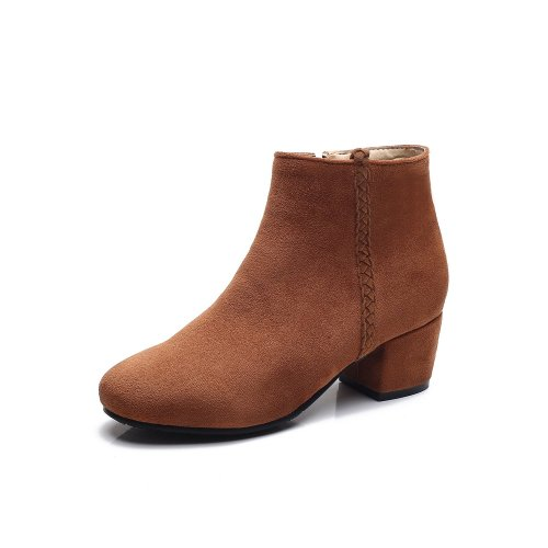 Autumn Winter Short Boots Low Heels Women's Ankle Boots