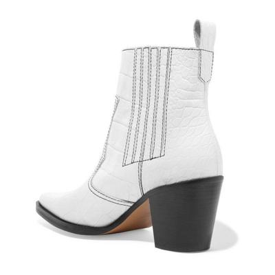 Women Winter Casual Slip-On Ankle Boots