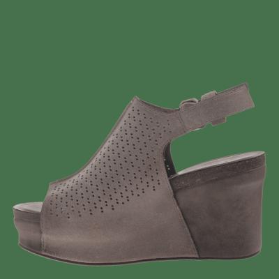 JAUNT in GREY POWNDER Wedge Sandals