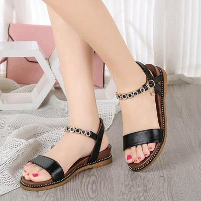 2019 Summer Women Shoes Flat Ladies Summer Shoes Fashion Women Sandals Elegant Ladies Sandals A764