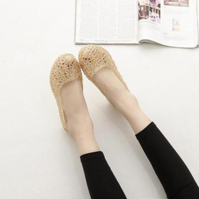 New Fashion Crystal Woman Sandals Summer Glitter Jelly with Work Casual Bird's Nest Womens Shoes