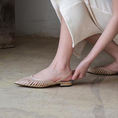 Flat And Simple Breathable Sexy Women's Sandals