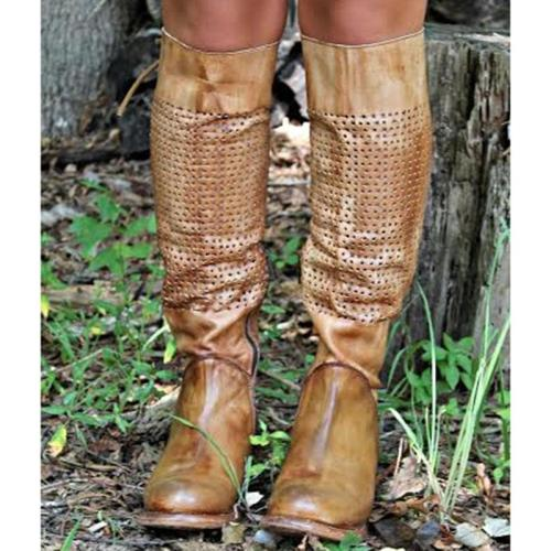 Women Vintage Tall Boot Shoes