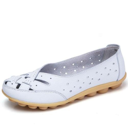 fashion Leather  Shoes For Women new arrival Round Toe  Casual Shoes Spring And Autumn Flat  shoes