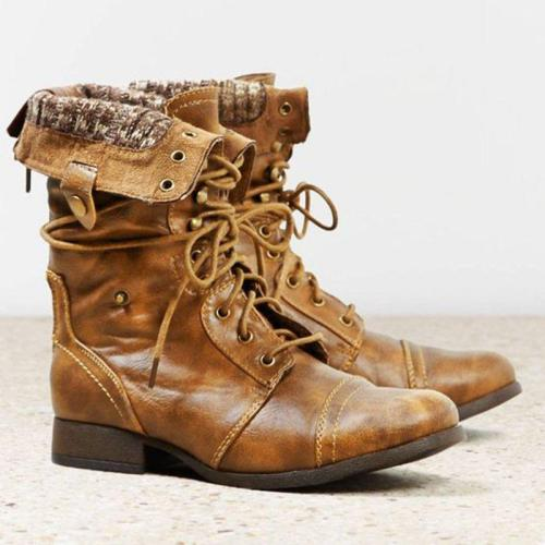 Fall Low Heel Boots