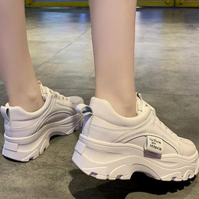 Autumn New Korean Style Women Shoes Casual Platform Solid Color Sneakers Women Casual Shoes Sneakers Zapatos De Mujer VT762