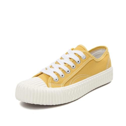 Woman Canvas Vulcanize Shoes Women Flats Loafers Female Fashion Platform Shoes Student Casual Sneakers Ladies Espadrilles