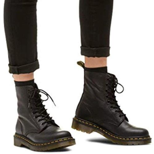 Women's Round Toe Fight Fashion Martin Boots