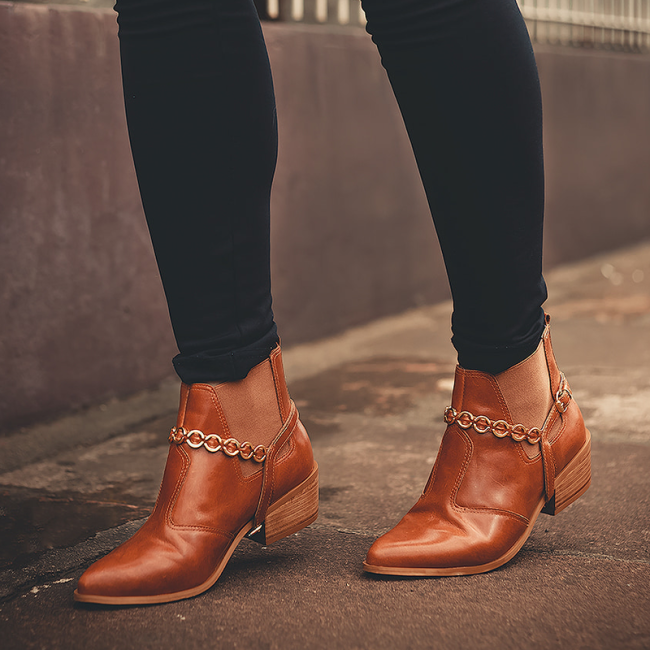 Boots With Slip On