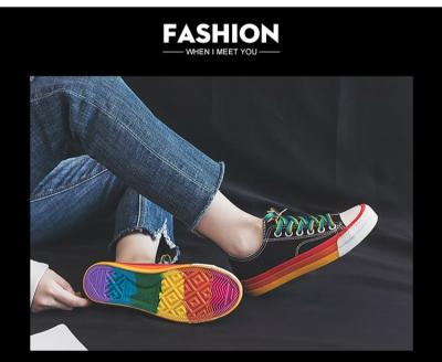 Harajuku Canvas Shoes Women Fashion Sneakers High Quality Comfortable Breathable Woman Casual Loafers Ladies Flats Vulcanize