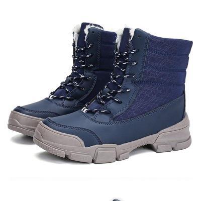 Waterproof Winter Snow Boots Platform Thick Fur Lined Heels Boots