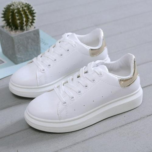 cuteshoeswearWomen Shoes Spring Summer White Casual Shoes Women Sneakers Soft Leather Shoes Female White Sneakers Female