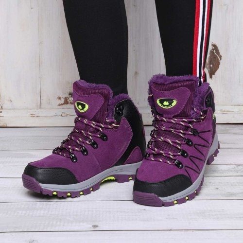 Unisex Athletic Lace-Up Hiking Climbing Outdoor Sports Sneakers