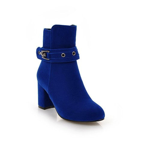 Autumn Winter Short Boots High Heels Women's Ankle Boots
