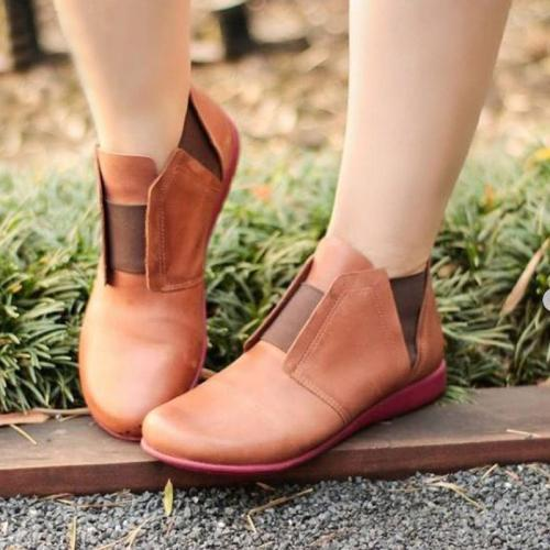 Plus Size Daily Casual  Ankle Boots