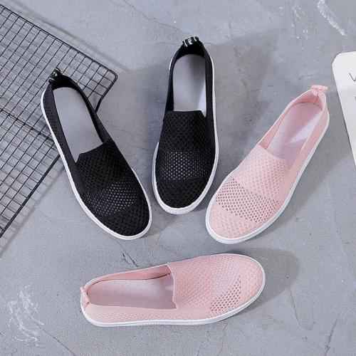 AARDIMI 2020 New Summer Breathable Women's Flat Shoes Woman Casual Flats Women Sneakers Mocassin Femme Espadrilles Hollow Out